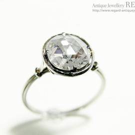 Antique Jewelry - Rosecut Diamond Ring