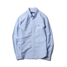 SOPHNET. - COTTON OXFORD B.D SHIRT