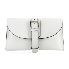 PROENZA SCHOULER - Buckle Bag leather clutch