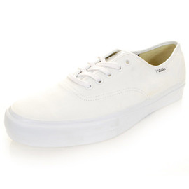 VANS - Vans Vault Authentic One-Piece White