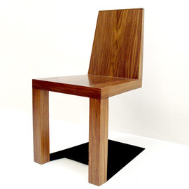 Duffy London - Shadow Chair (Walnut)