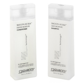 giovanni - SMOOTH AS SILK SHAMPOO/CONDITIONER