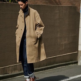 nanamica x AH - GORE-TEX® Big Soutien Collar Coat