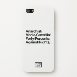 FORTY PERCENTS AGAINST RIGHTS - ANARCHIST APPEAL/ I PHONE CASE