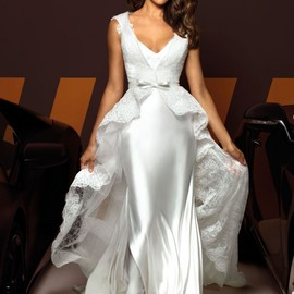 Irina Shayk - Wedding dress