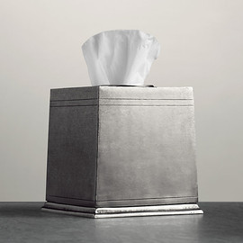 Restoration Hardware - Apothecary Pewter Accessories - Tissue Cover