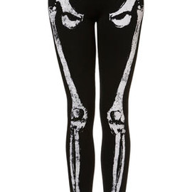 TOPSHOP - Skeleton Embellished Leggings