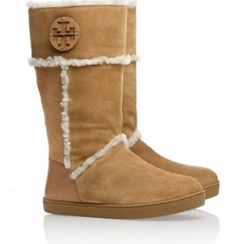 TORY BURCH - SHEARLING BOOT VICUNA