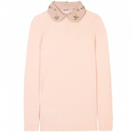 miu miu - 【Autumn/Winter2012-2013】Miu Miu PULLOVER WITH EMBELLISHED COLLAR 1