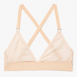 need supply.co - Triangle Bra in Sheer Nude