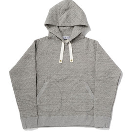 bal - QUILTING PULLOVER HOODIE