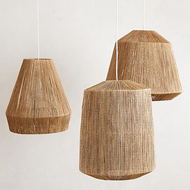 Anthropologie - Bungalow Pendant Lamp
