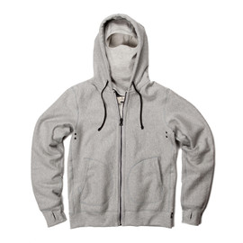 Reigning Champ - x Deus Ex Machina Full zip hoodie - heather grey