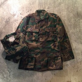 U.S.Military - LC-1 Leaf Fatigue Jacket/1970's Vintage