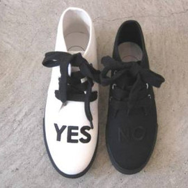 I am I - YES No sneaker