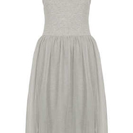 TOPSHOP - Tulle Strappy Midi Dress