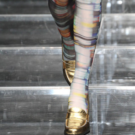 ANREALAGE - BLUR PRINT TIGHTS
