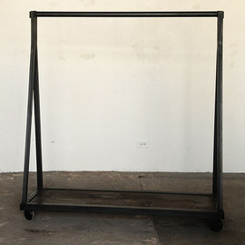 "Strawser & Smith - ""A"" FRAME CLOTHING RACK"