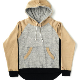 bal - LAYER PULLOVER SWEAT HOODIE