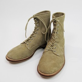 PHIGVEL - 8 LACE UP BOOT(BEIGE SUEDE)