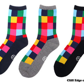 uniformexperiment - uniformexperimentCOLORCHARTSOCKS[靴下][ソックス]290-002544-537x【新品】