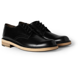 Acne - AcneBleeker Contrast-Sole Leather Derby Shoes