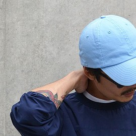 BAYSIDE - WASHED TWILL 6 PANNEL CAP