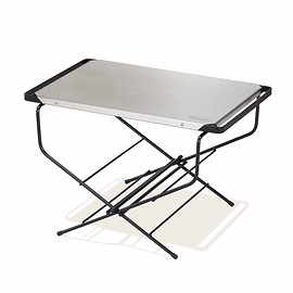 Hangout - Hangout  fire side table stainless top