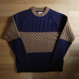 "bukht - Crazy Fisherman's Crew Bicolor ""CamelxD.Navy"""