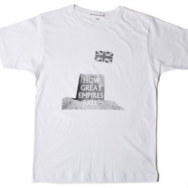 British Remains - White Great Empires T-Shirt