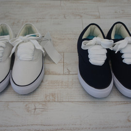 GANRYU COMME des GARCONS LEATHER SNEAKER (WHITE) 2012SS
