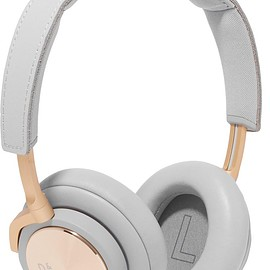 B&O Play - H6 leather and gold-tone headphones