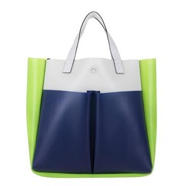 ANYA HINDMARCH - Rubber Nevis Tri-colour  - White
