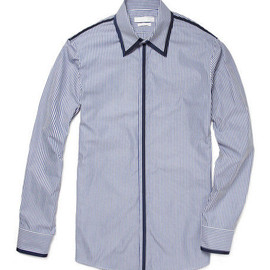 Alexander McQueen - RIBBON TRIM SHIRT