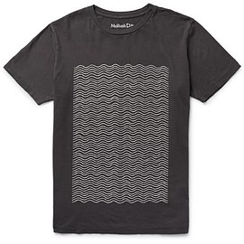 Mollusk - Wavy Printed Cotton-Jersey T-Shirt