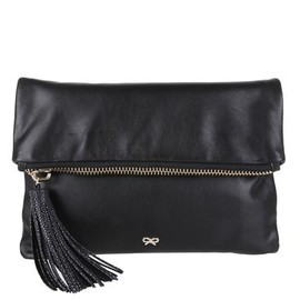 ANYA HINDMARCH - Huxley Clutch - Black
