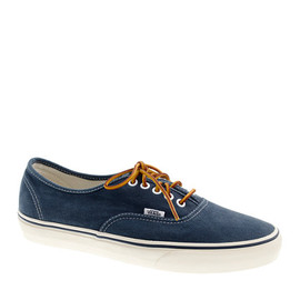 Vans® for J.Crew - Vans® for J.Crew washed canvas authentic sneakers Dark Navy