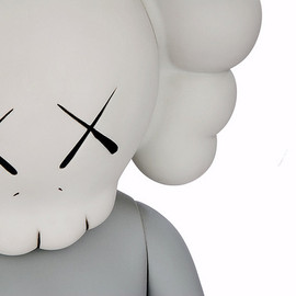 MEDICOM TOY, HECTIC - KAWS COMPANION FIVE YEARS LATER GREY
