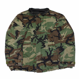 VINTAGE - Vintage Military Issued Camouflage Chemical Protective Suit Jacket Mens Size XXL