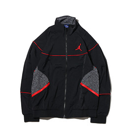 NIKE - NIKE AJ3 WVN JKT VAULT  BLACK/BLACK/UNIVERSITY RED