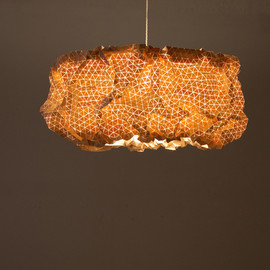 "Elisa Strozyk & Sebastian Neeb - ""Miss Maple"" Suspension, made with small wooden triangle"