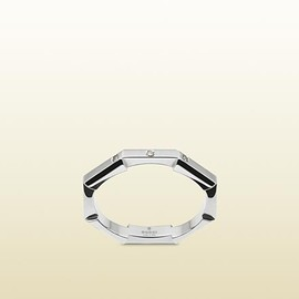 Gucci - Link to love collection platinum & diamond