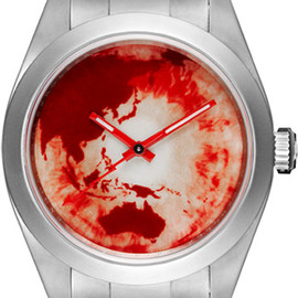 Marc Quinn, Bamford Watch Department, ROLEX - Red Ocean Orbit - Milgauss