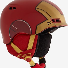 Burton - Marvel® x anon. Boys' Burner Helmet shown in Iron Man™ ©2016 Marvel