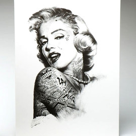 REBEL8 - POSTER - Die Young Marylin