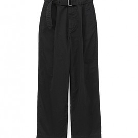 Graphpaper - Military Cloth Belted Pants