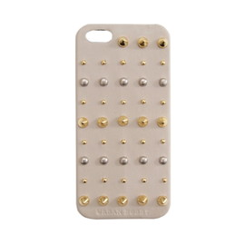 URBAN BOBBY - Studs iPhone case (GREIGE)
