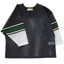 TOGA - Mesh Jersey (navy)