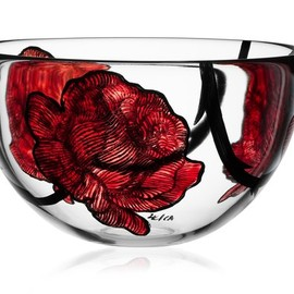 Kosta Boda - Rose Tattoo Bowls