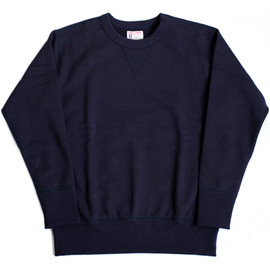 The Real McCoy's - 12 oz. Navy Sweat